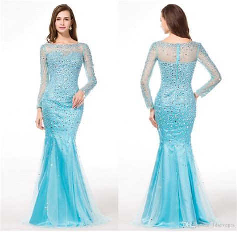 light blue sleeve dress light blue prom dresses with sleeves search
