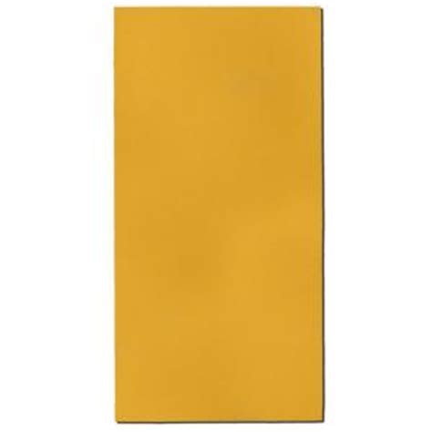 owens corning 24 in x 48 in yellow rectangle acoustic