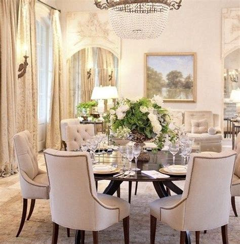 Beautiful Centerpieces For Dining Room Table by Classic Chic Home Dining Room Centerpiece Crafty Ideas