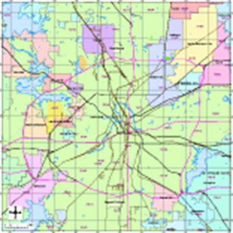 fort worth texas zip code map editable fort worth tx city map with roads highways zip codes illustrator pdf digital