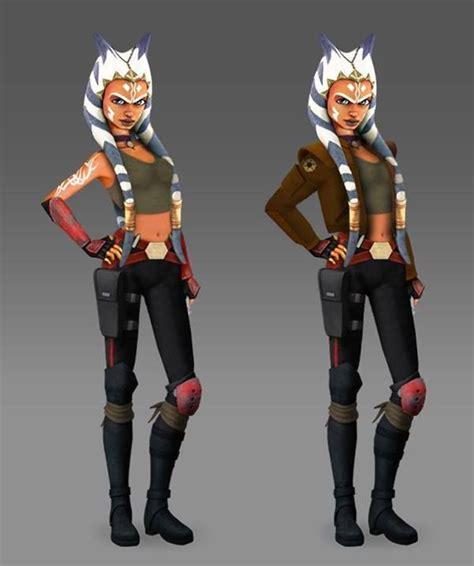 Fashion Asoka fan made rebels ahsoka smuggler wars