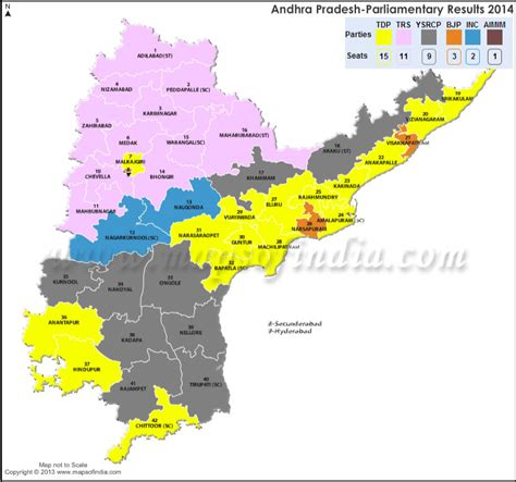 congress seats in lok sabha 2004 andhra pradesh general lok sabha election results 2014