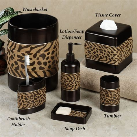 bathroom interior designs with cheetah print bathroom
