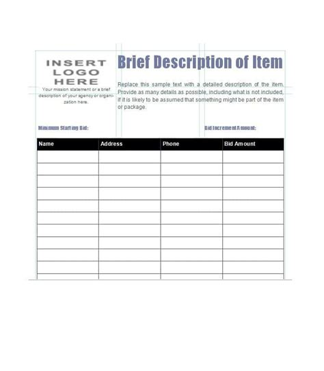 Free Project Status Report Template