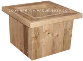 free woodworking plans how to make a planter box