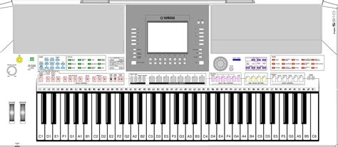Lcd Keyboard Yamaha Psr S710 posts ggetdirty