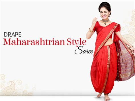 saree draping steps diy maharashtrian style saree draping watch video to