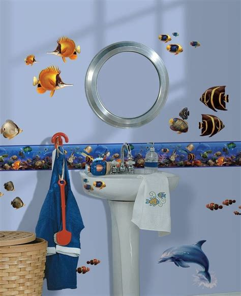 Bathroom Border Decals 17 Best Ideas About Wall Borders On Tribal