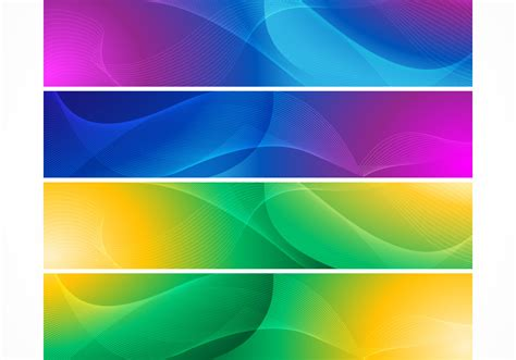 bright abstract wave banner backgrounds  photoshop