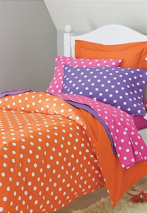 Orange Pink And Turquoise Bedding by Bright Dots Bedding Bedrooms Bedding Room