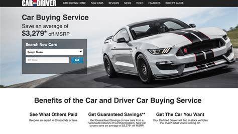 car service driver truecar car and driver hearst autos form new car buying