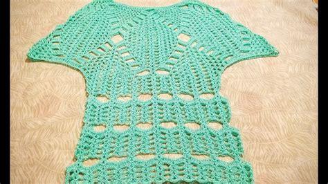 blusa en crochet ganchillo de abanicos parte 1 crochet capa 243 blusa en crochet ganchillo parte 1 capa