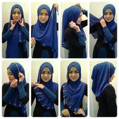 tutorial hijab jalan2 this is a very easy basic hijab style for beginners it s