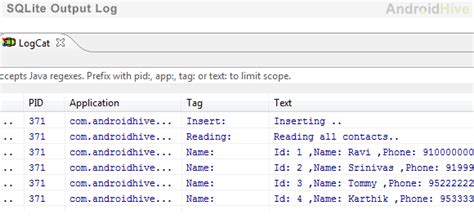 qt tutorial 1 the 14 steps android sqlite tutorial step by step
