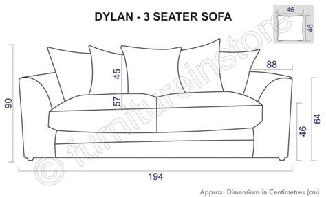 average size of couch dylan 3 seater sofas in caramel jumbo cord fabric sofa