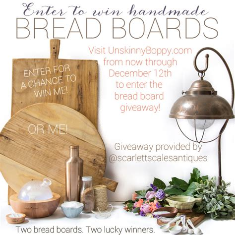 Bread Giveaway - all natural body lip and facial scrubs using essential oils welcome to beth s yl