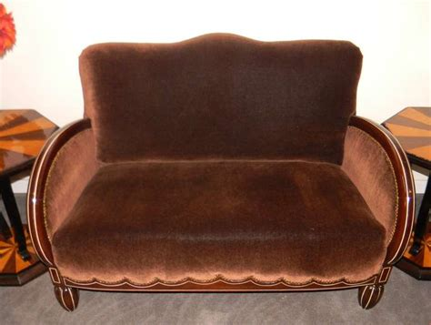 deco sofa and chairs important deco sofa settee and chairs at 1stdibs
