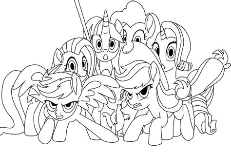 coloring pages my little pony the movie my little pony the movie friendships coloring page