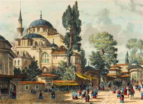 Ottoman Istanbul Ottoman Istanbul Kili 199 Ali Pasha Mosque By Ugur274 Istanbul Constantinople Drawing