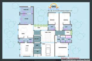 home design for 2400 sq ft single floor house plan and elevation 2400 sq ft