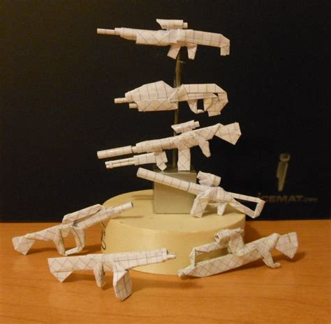 origami weapons origami weapons 2 by solidmark on deviantart