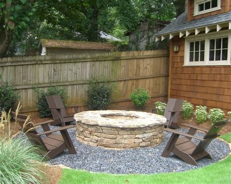 backyard fire pit ideas landscaping marceladick com