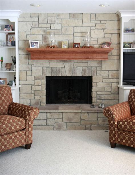 19 awesome stacked fireplace designs