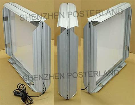 ultra thin light box ultra thin indoor double sided snap frame light box id
