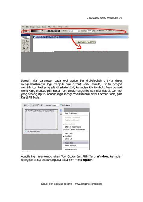tutorial dasar adobe photoshop pdf teori dasar photoshop