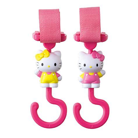 Puku Hanger pinocchio hello stroller car hanger pink