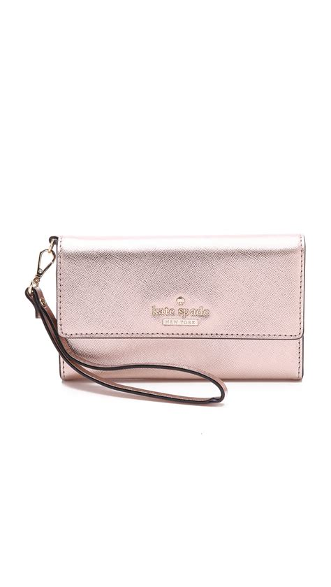 kate spade cedar street iphone 6 6s case wristlet in kate spade cedar street iphone 6 6s case wristlet rose