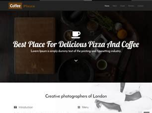 css layout restaurant restaurant free website template free css templates