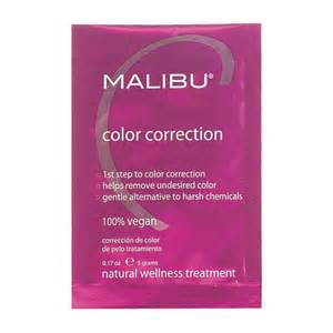 malibu hair treatments malibu c color correction treatment sachet 5g treatments