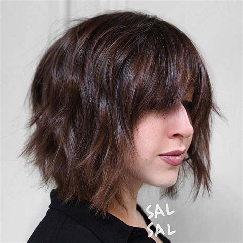 2017 Hairstyles For 60 With Bangs by Best 10 Shaggy Bob Hairstyles Ideas On