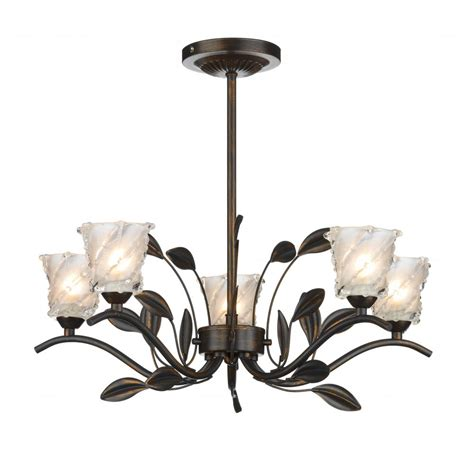 cottage lighting pretty bronze light suitable for lower ceiling heights