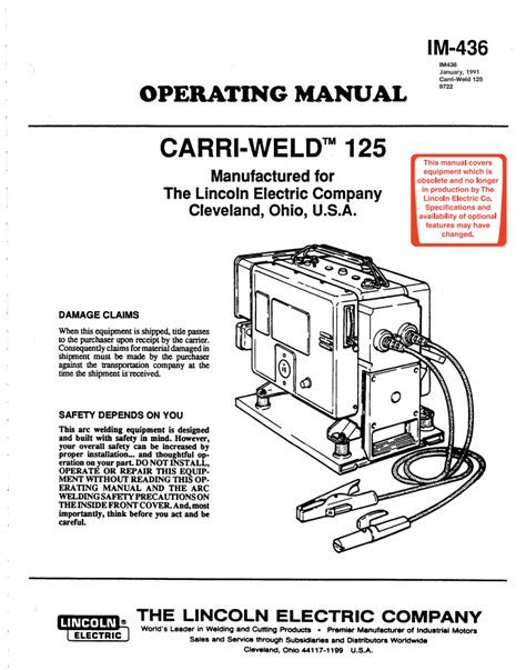 lincoln welder manuals lincoln electric welder owners manuals tradesmetr