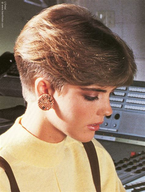 feathered hair into nape of neck the unique 80 s hairstyles stylewe blog