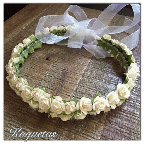 fiori tiarè white flower crown flower crown bridal floral crown