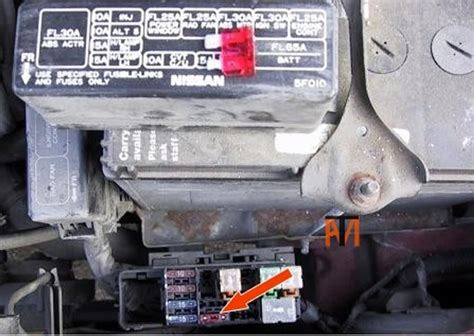 ask the mechanic nissan 2006 nissan altima fuse box nissan