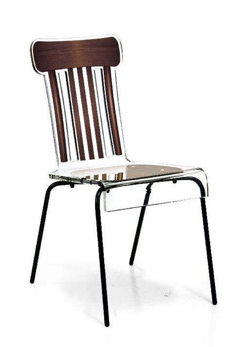 Chaise Acrylique by Chaise Acrylique Chaise Couleur Unique Chaise En