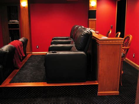 build home theater seat risers dedicated ht room basement build avs forum home