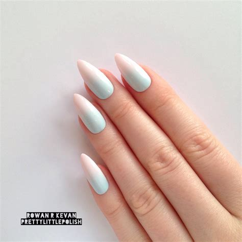 Nail De by Top 35 Pointed Acrylic Nails