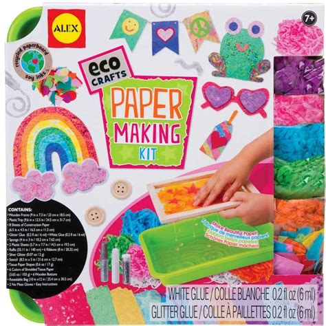 Paper Craft Kit - paper kit eco craft educational toys planet