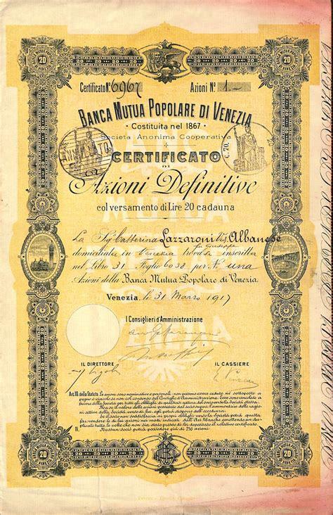 banco popolare venezia banca mutua popolare di venezia scripomuseum