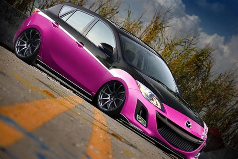 pink and black cars 16 background wallpaper