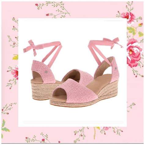 Wedges Baby Pink 4ps 01 64 ugg shoes cco sale baby pink ugg wedge