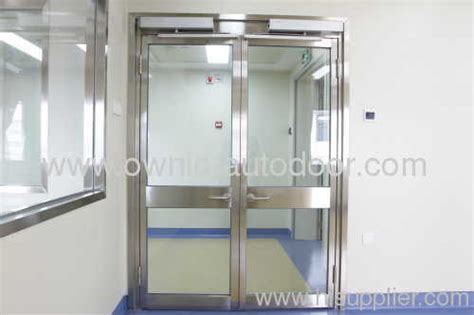 stainless steel hospital swing doors open304 stainless steel with frame glass from china