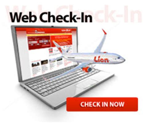 tutorial web check in lion air lion air web check in tiket online