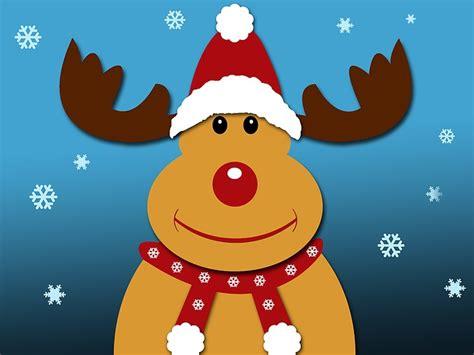 weihnachten rentier rudolph kostenloses bild auf pixabay