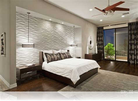 Simple Bedroom Wall Panels With Additional Home Interior Bedroom Wall Design